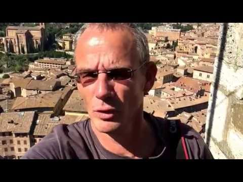 Vlog: Siena, Panorama vanaf Torre del Mangia. Piazza il Campo.