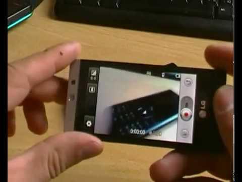 LG GD880 Mini - дисплей