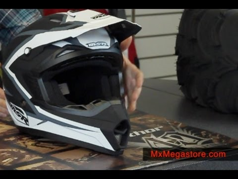 2014 MSR Assault Motocross Helmet Review by MxMegastore