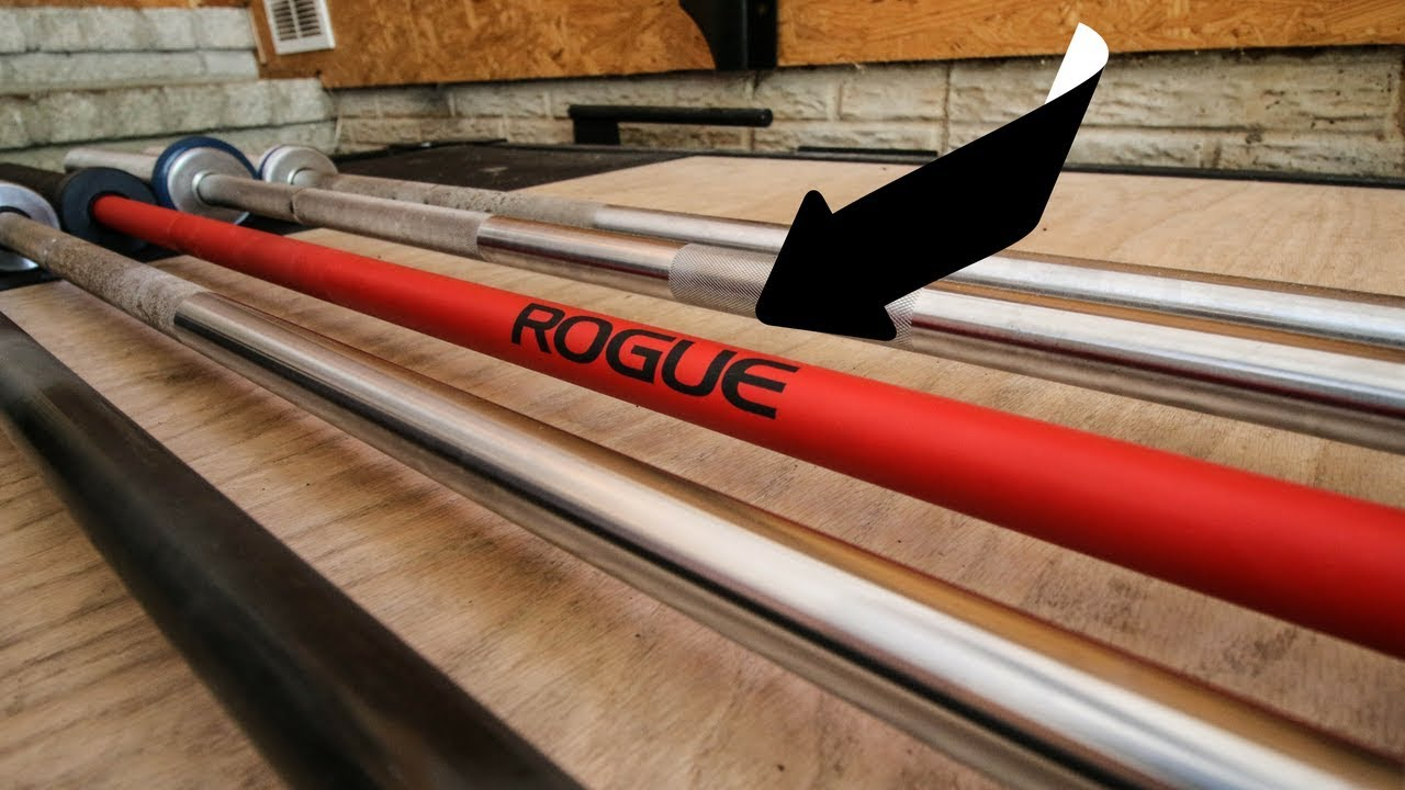 Rogue cerakote barbell review youtube