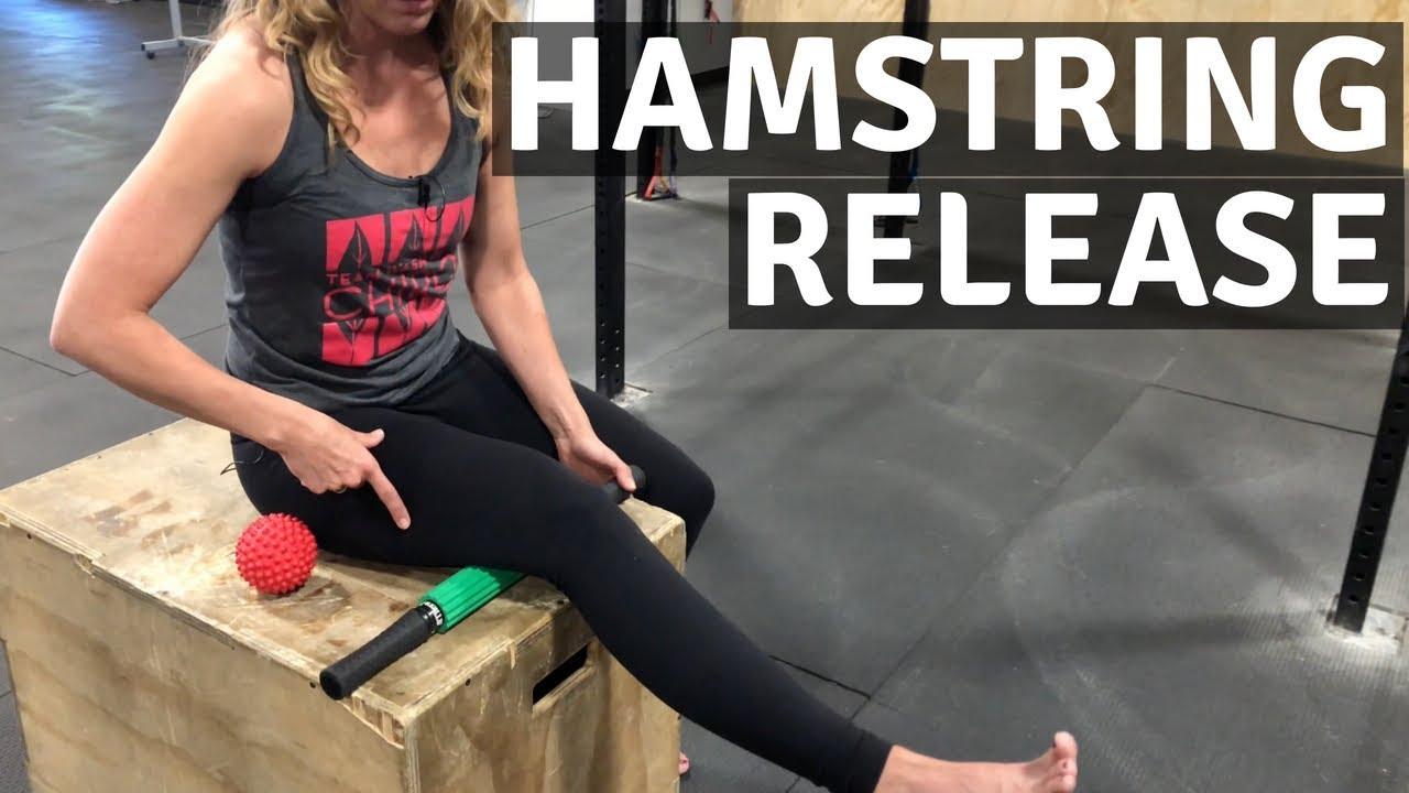 Self Myofascial Release - Hamstring - YouTube