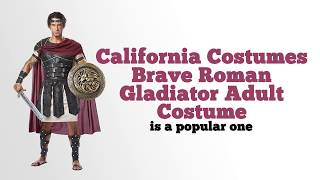 California Costumes Brave Roman Gladiator Adult Costume Review