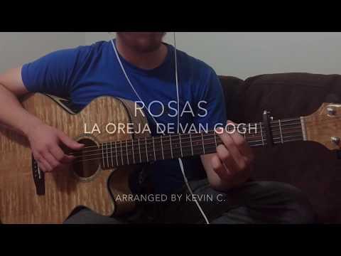 Rosas  La Oreja De Van Gogh Fingerstyle Guitar