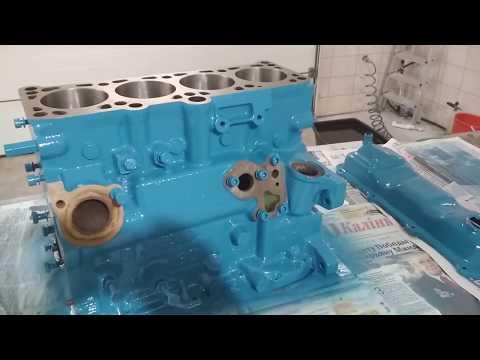 Капремонт двигателя 1.6 D дизель атмосферник JP гольф 2 40кВт. Часть 1