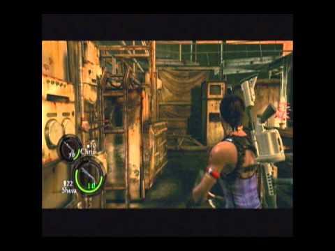 Let's Play Resident Evil 5 (Co-op) - Conveyor Belt Bitches (#12)