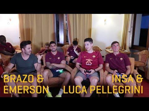 Roma FIFA Challenge: Insa & Luca Pellegrini v Brazo & Emerson Palmieri