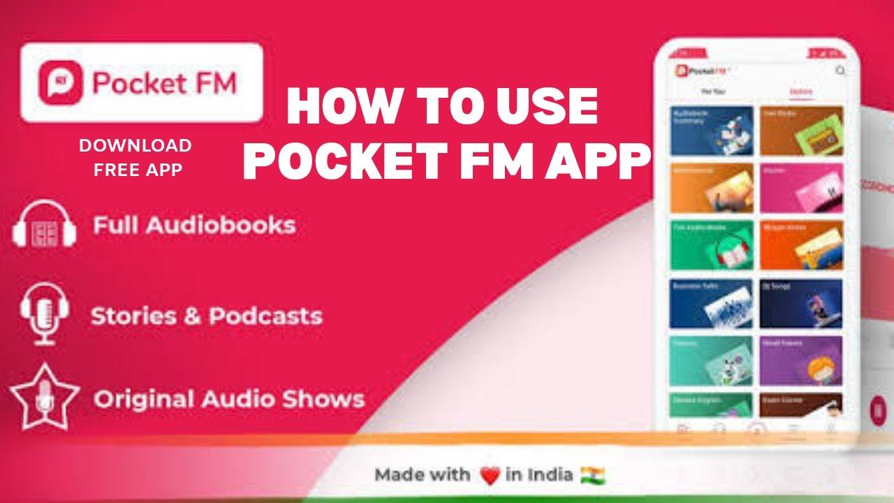 Pocket FM App - How To Use Pocket FM App - Pocket FM App Tutorial - Pocket  FM Kaise Use Kare - YouTube