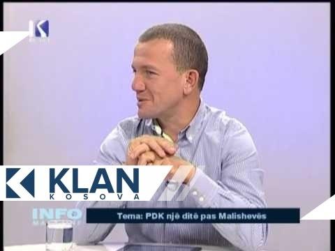 INFO MAGAZINE: Mysafir: Berat Buzhala - 24.09.2013 - KLANKOSOVA.tv