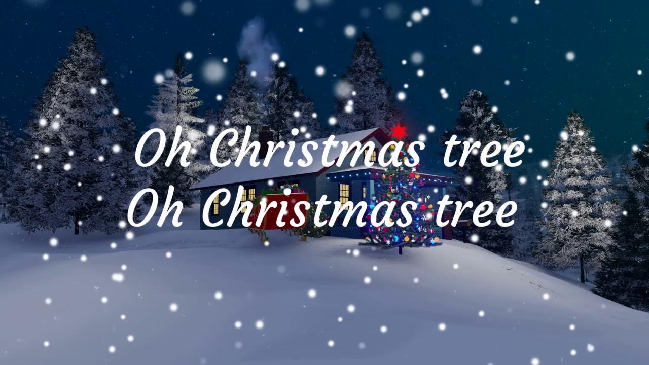 Oh Christmas Tree by Boney M (Lyrical Video) - YouTube
