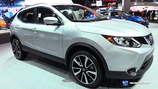 2018 Nissan Rogue Sport SL AWD – Exterior and Interior Walkaround – 2017 Detroit Auto Show