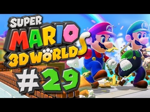 Super Mario 3D World Gameplay #29 - Ich laufe gern