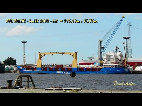 BBC BALTIC V2DG8 IMO 9427093 Emden cargo seaship merchant vessel Seeschiff Frachtschiff