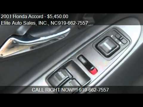 2001 Honda Accord EX Coupe Carfax 1 Owner - for sale in Rale