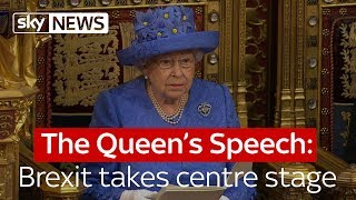 The Queen's Speech: Brexit takes centre stage