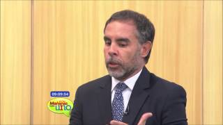 Socorro Porro con el senador Armando Benedetti