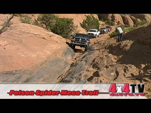 Poison Spider Mesa Trail Moab in Dodge Power Wagons - 4x4TV