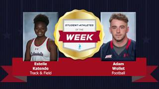Student Athletes of the Week 12.12.18