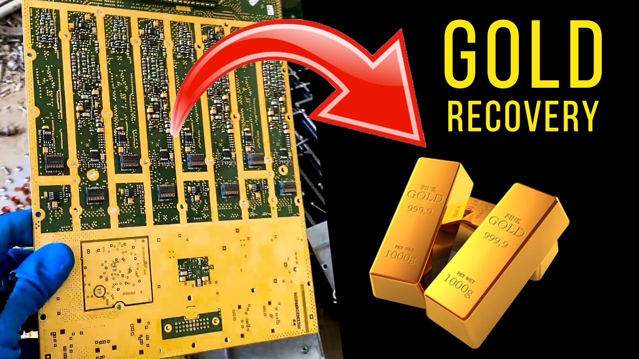 Telecommunications Boards for Gold Recovery #ewaste | Best E-waste?🔥🔥🔥