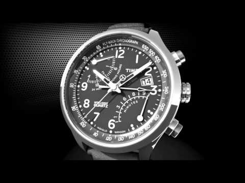 TIMEX® Intelligent Quartz Fly-Back Chronograph - How-to Use the Chronograph