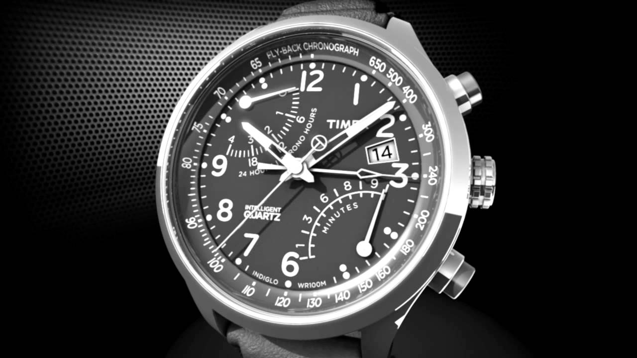Timex 174 Intelligent Quartz Fly Back Chronograph How To