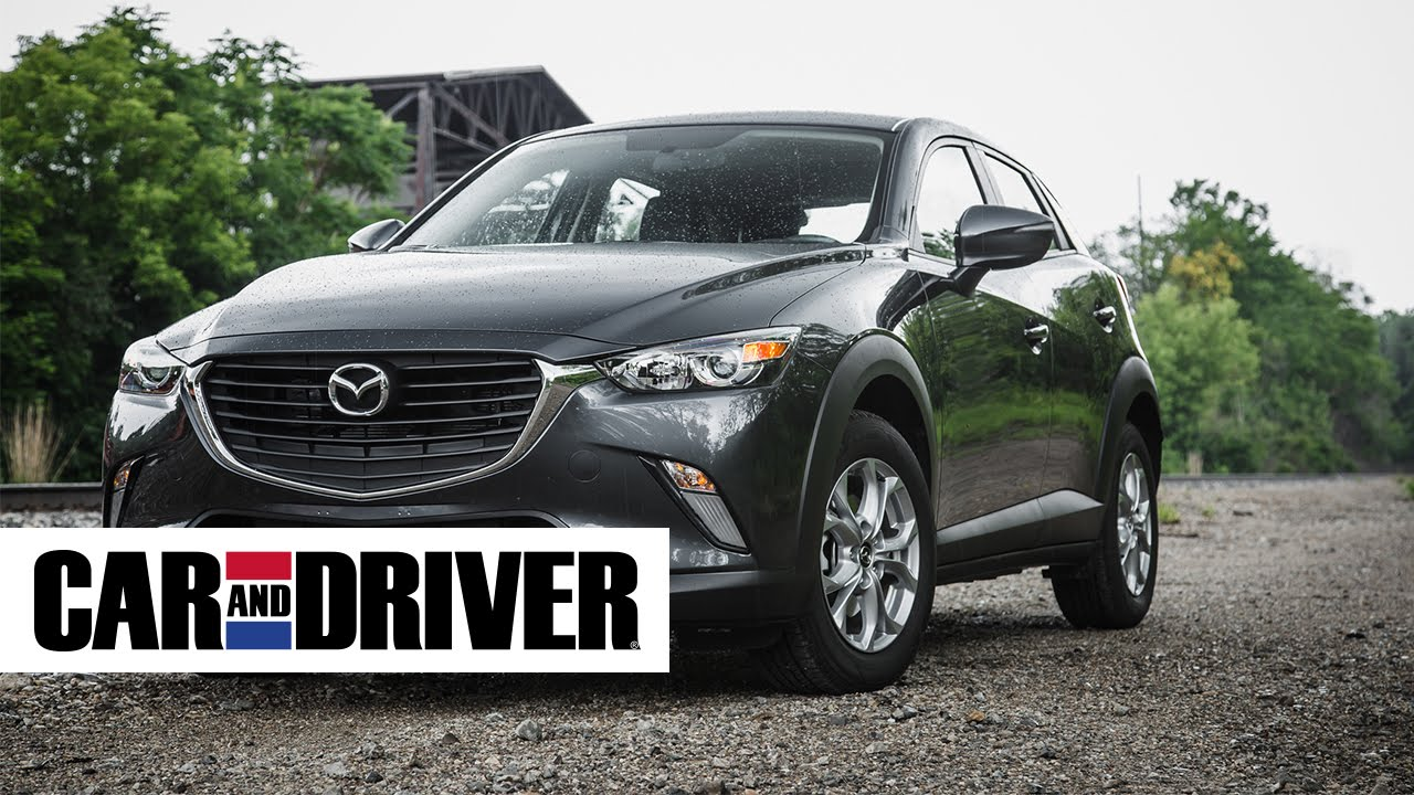 mazda cx 3 review in 60 seconds car and driver youtube. Black Bedroom Furniture Sets. Home Design Ideas