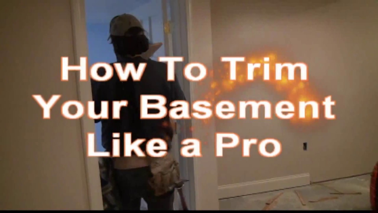 how to finish my basement video training courses youtube