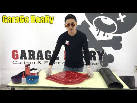 GaraGe BeaRy : Carbon Hand Lay Up Process