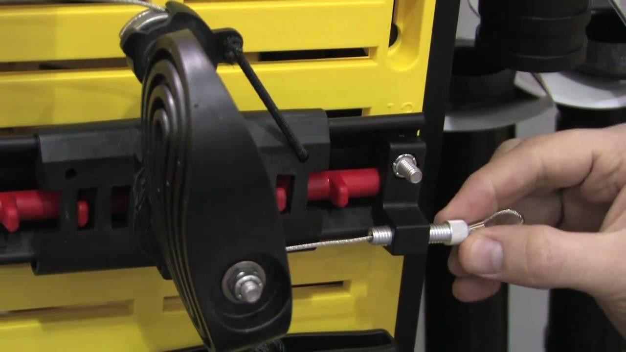 SEA-LECT Designs - Kayak Adjustable Foot Brace w/ Rudder Control