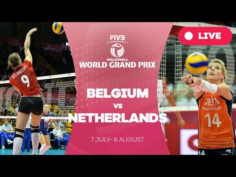 Belgium v Netherlands - Group 1: 2017 FIVB Volleyball World Grand Prix