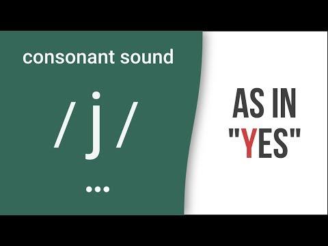 "Consonant Sound / J / As In ""yes"" – American English Pronunciation"