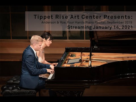 Watch it again: Anderson & Roe, Four Hands Piano Recital.