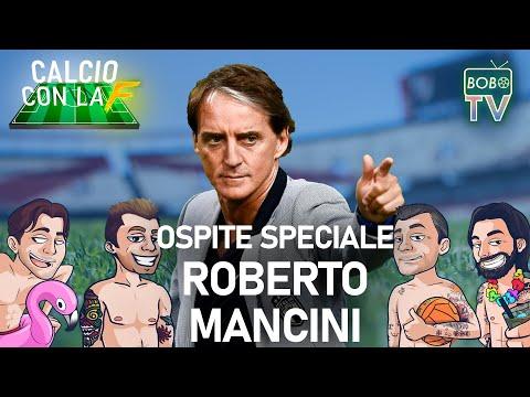 BOBO TV - OSPITE SPECIALE il CT della Nazionale Italiana ROBERTO MANCINI