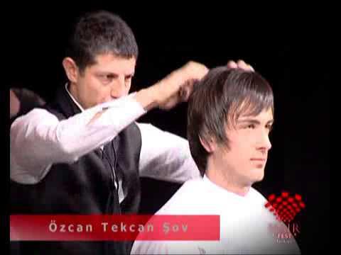 Hair Fast'te Özcan Tekcan Show Videosu Showlar videoları İstanbul Berberler Odası