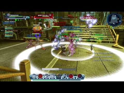 dcuo pvp electric healing montage