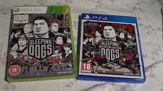 Unboxing (PL) - Sleeping Dogs Definitive Edition (2014 - PS4)