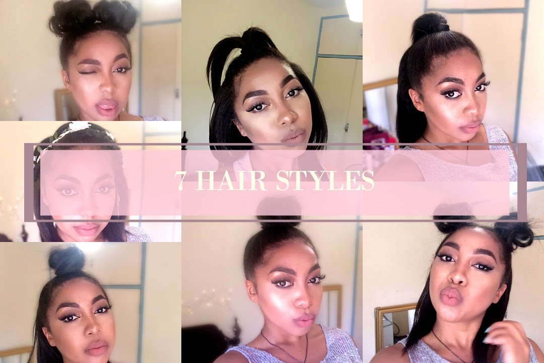 7 Hairstyles For Straight Hair Relaxed