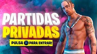 🔴*PARTIDAS PRIVADAS* FORTNITE EN DIRECTO (BATALLAS DE OUTFIT/SCRIMS)