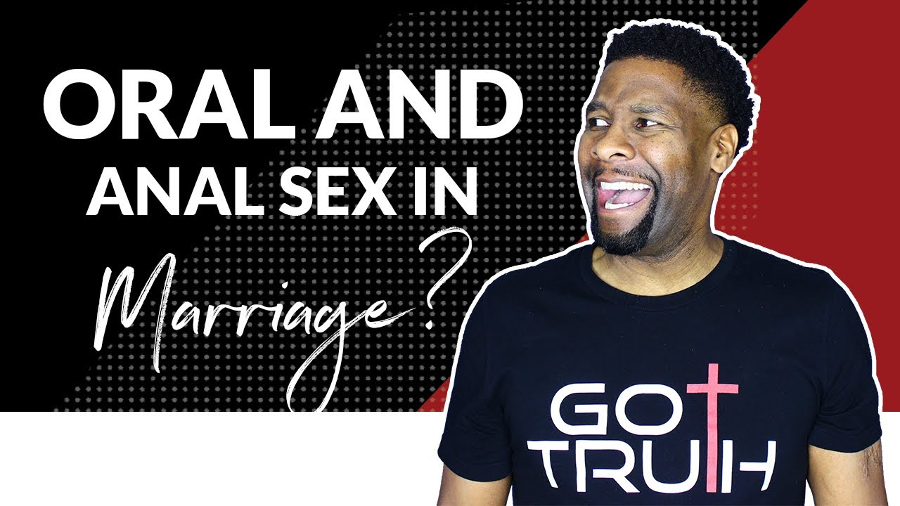 Is anal sex wrong in marriage