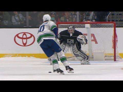 Canucks, Kings face off in shootout