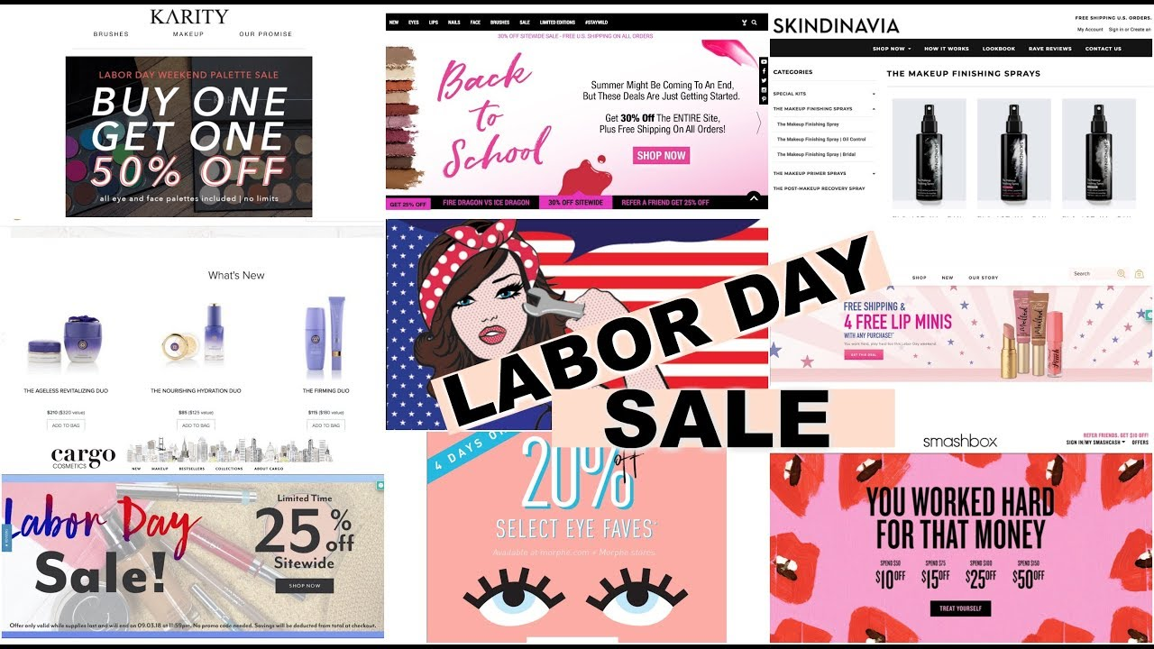 LABOR DAY SALE 2018 BEAUTY SALE LABOR DAY 2018 YouTube