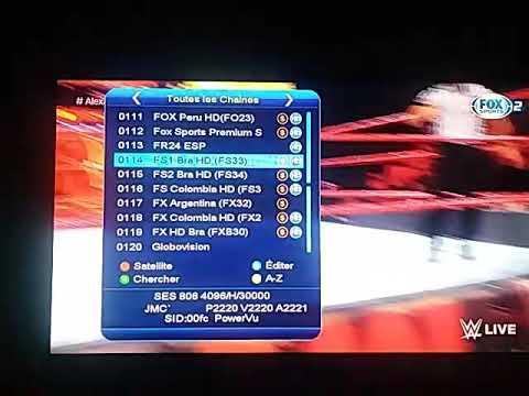 تشغيل Fox sport brazil@40,5wعلي باند سي