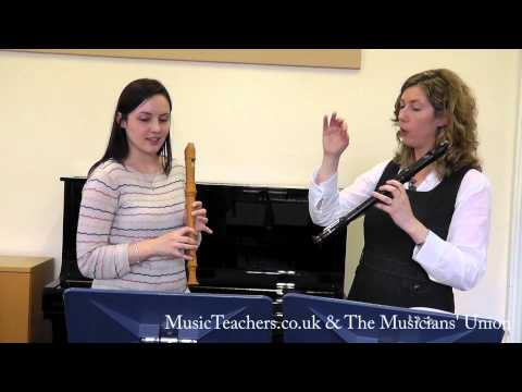 Recorder Lesson: Laoise O'Brien: 4 Performance Preparation -  Telemann Sonate Metodiche