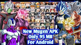 New Bleach Vs Naruto Mugen Apk For Android With New Vegeta SSB Evolution And Goku MUI DOWNLOAD