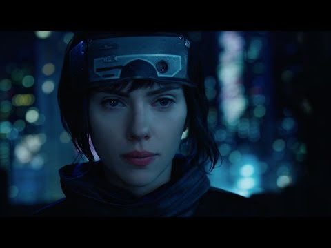 "Ghost in the Shell (2017) - ""High Rise Jump"" Clip"