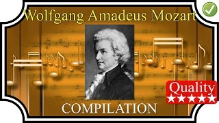 mozart compilation 1h25 high quality sound classical music hq full complete hd