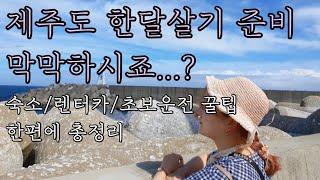 [한달휴직 직장인 제주살이 준비편] 제주살이 총정리: …