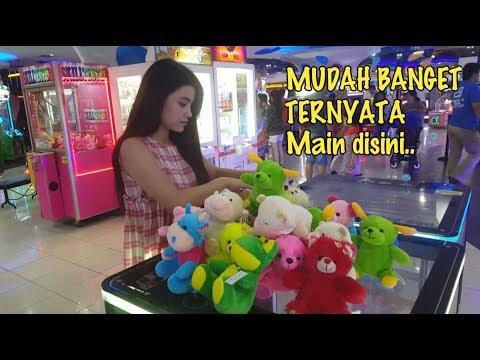 Mudahnya Main Capit Boneka di Timezone Emporium Pluit Mall Jakarta