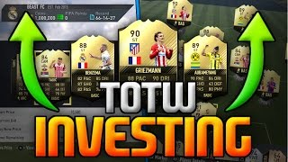 FIFA 17 | BEST PLAYERS TO INVEST IN (MAKE 500K A DAY) 4600 FIFA POINTS GIVEAWAY