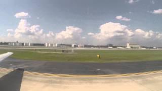 Delta 717-200 Landing at Hartsfield-Jackson Atlanta International Airport (ATL)