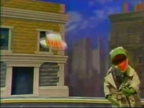 Sesame Street News Flash: The Invisible Man